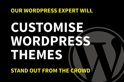 Customise WordPress Themes In Less Than 24Hrs