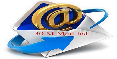 Give you 30M mail list