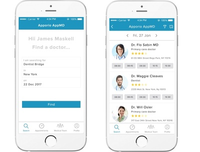 Develop Doctor Appointment Booking Mobile App (Android)