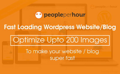 Optimize Images - wordpress website ( Fast Loading without loosing Quality )