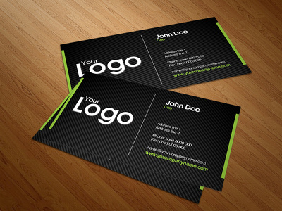Design your business and visiting card