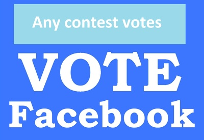 250 Real online voting contest votes