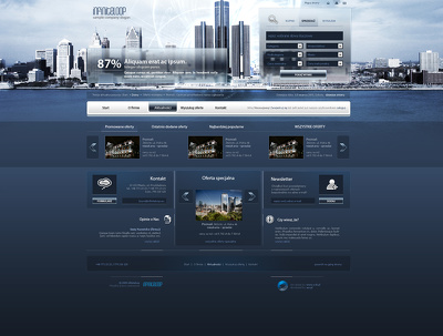 Design your website home page design