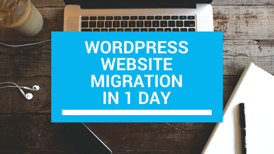 Migrate your entire WordPress website to your new domain/hosting