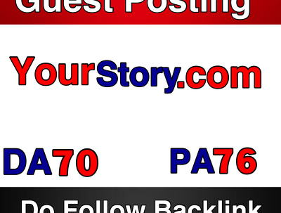 Guest post on YourStory DA70 PA 76 – Yourstory.com