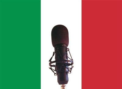 Record up to 150 words of voice over in Italian male or female