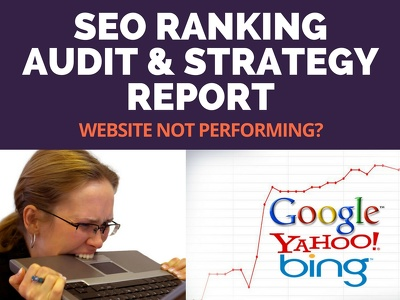 Provide Detailed SEO Audit & Strategy Report With Keywords & Competitor Analysis