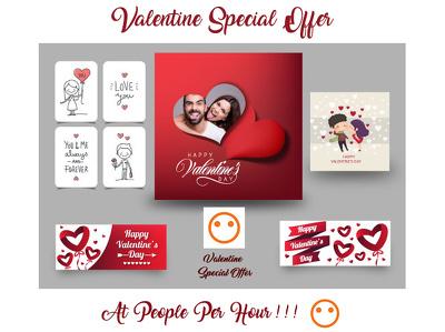 design Valentine Special Poster,Card,Banner