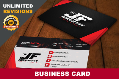 Design Professional and attractive Business card or Visiting Card