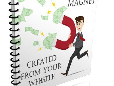 Create a Professional Full E-book Lead Magnet from Your  Online Content