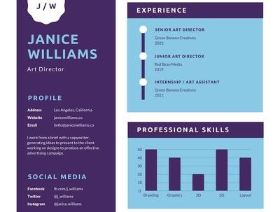 Make an attractive CV