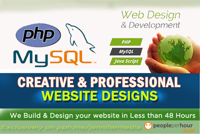 Develop a Professional Database driven website using PHP and Mysql