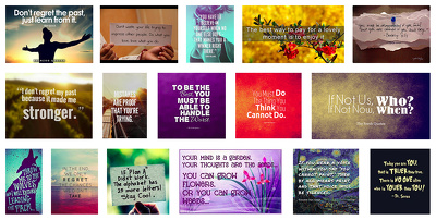 Send you 1000 Inspirational Quote Pictures to use on your website or social media