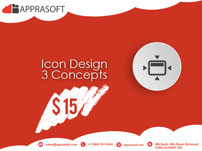 Design ICON - 3 concept with unlimited revision in 24 hours