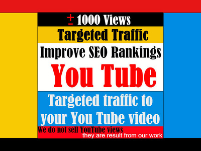 Drive Traffic to your YouTube video via Social Media