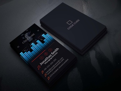 Design your demandable business card with in 24 hours.