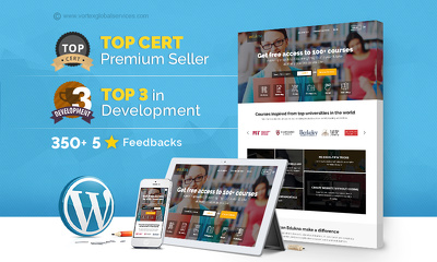 Design and Develop a High-End Premium Fully Responsive Wordpress/CMS website
