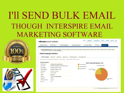 send bulk emails with text,image & HTML(10,000 emails)-High inbox rate