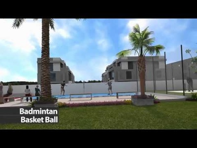 Create architectural walkthrough animation in 3dsmax vray -30sec