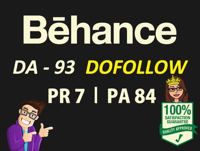 Write a Guest post on Behance.net (DA93) - Dofollow backlink