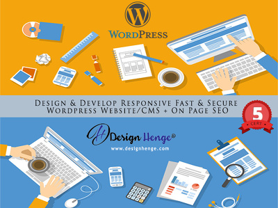 Design & Develop Responsive Fast & Secure Wordpress Website/CMS