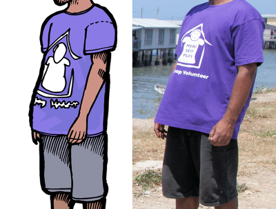 Create a cartoon version of a person from a photograph