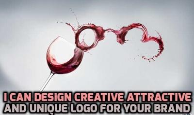Design creative attractive and unique logo for your dream brand
