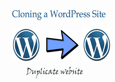 Clone,duplicate and copy any wordPress website or blog