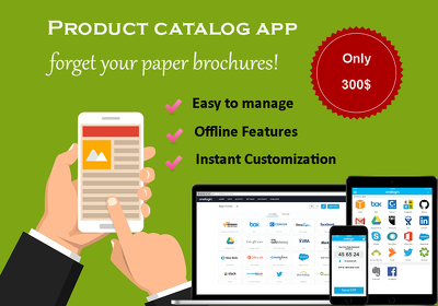 Digital Product Catalog with easy customization