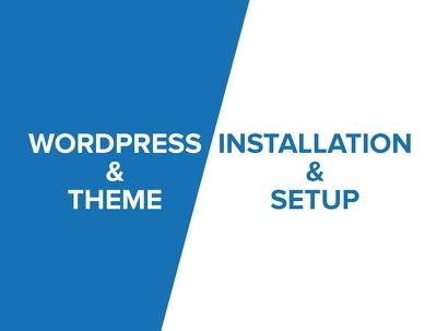 Install wordpress theme or setup exactly like its demo