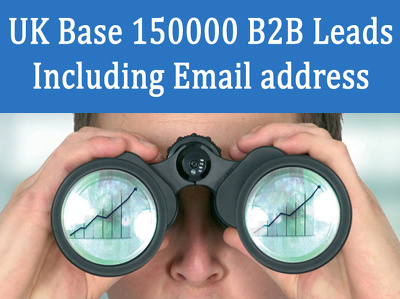 Give you current UK base 150000 b2b leads including email address