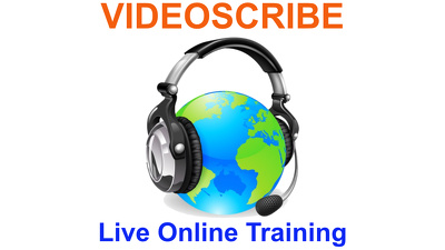 Deliver 1-to-1 live online training on Sparkol VideoScribe for 45 minutes
