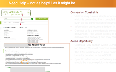 A detailed web conversion audit to boost online sales