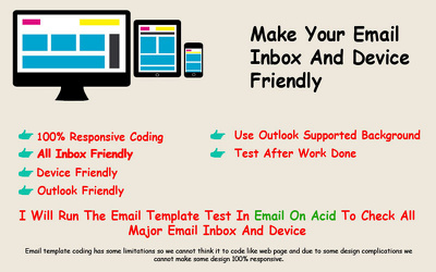 Do email template from PDF, JPG, PNG and PDF