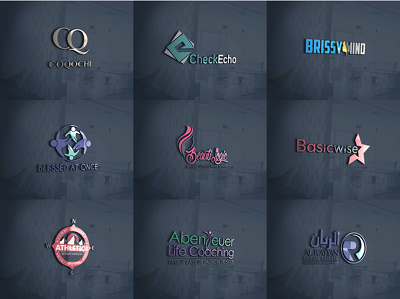 Bespoke logo, 3 Concepts ,Unlimited Revisions + Source Files