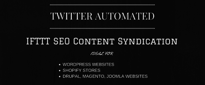 Provide IFTTT SEO Content Syndication - Branded