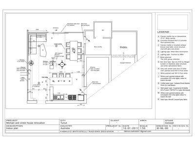 Draw plan and elevations for a room