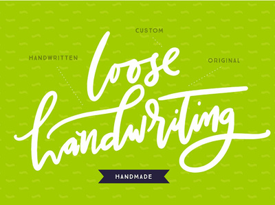 I will make an original HANDMADE Loose Handwriting Signature Logo