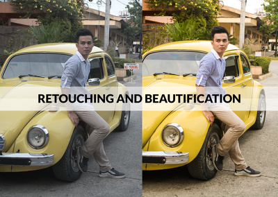 Retouch and Enhance Five (5) of your Photos