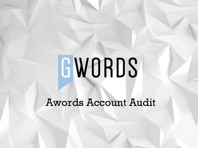 Run a Google Adwords Account Audit
