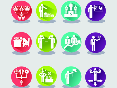 Create set of 5 unique icons for your site or app