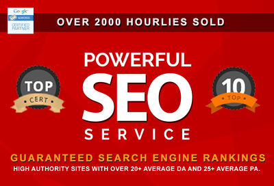 Supercharge your SEO marketing & Rank #1 on Google with real SEO Result!