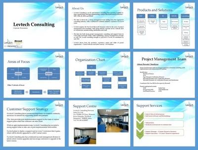 Design unique PowerPoint Presentation