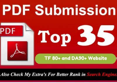 Manually do PDF submission to top 35 DA90 document sites