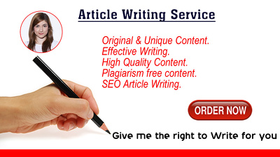 Write an interesting, informative, unique and SEO hand written article of 500 words