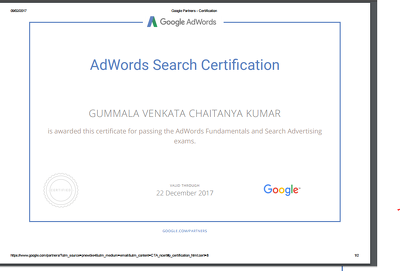 Create and Manage your Google Ad Words Campaign / Pay Per Click