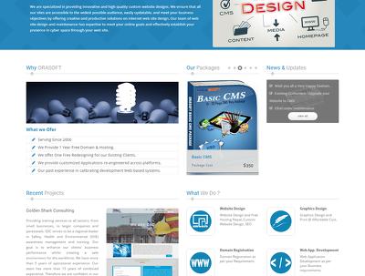 Design a web site