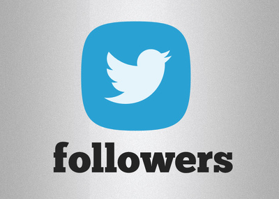 Add 2,000 Real and HQ Twitter followers to your profile