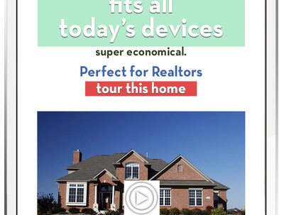 Customized Email Template for Real Estate Agents / Automotive
