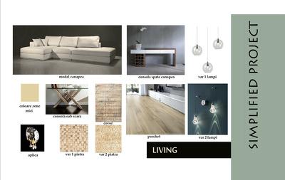 Make interior design SIMPLIFY CONCEPT  for your space